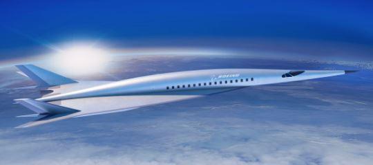 Boeing: Nuevo Avión Hipersónico