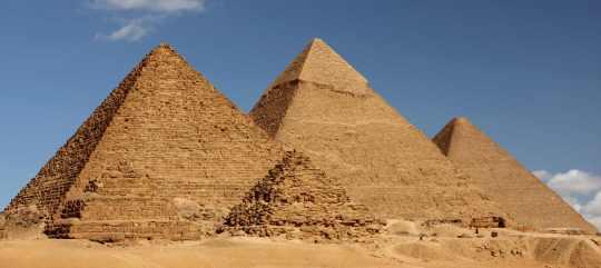 Egipto abrió al público dos de sus pirámides