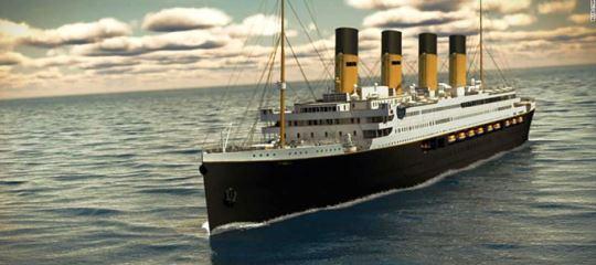 El TITANIC II planea su primer viaje en 2022
