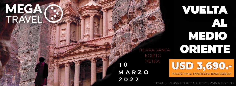 VUELTA AL MEDIO ORIENTE Marzo 2022