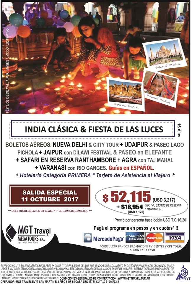 INDIA CLÁSICA & DIWALI FESTIVAL 11 OCTUBRE 2017 CERRADA